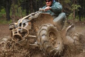 Mudding ATV