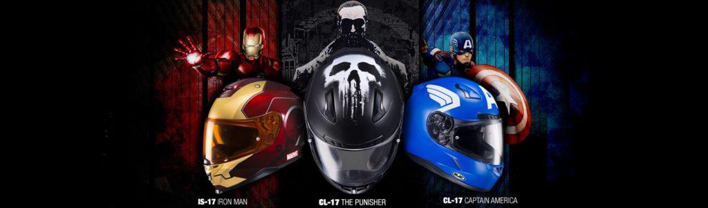 HJC Marvel Helmets