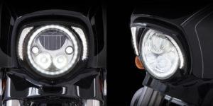 Ciro Harley Headlight Bezel