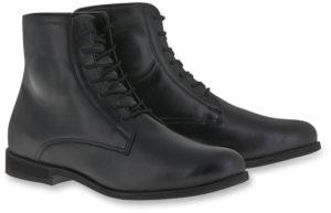 Black Alpinestars Riding Shoes