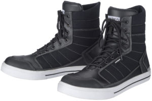 Black Cortech Motorcycle Shoes