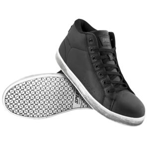 Black Motorcycle Shoes