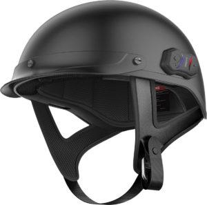 Half Helmet with communicator
